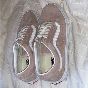 New Without Tags Pink/ Nude Vans